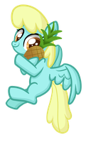 Pineapple Pony by TheCheeseburger