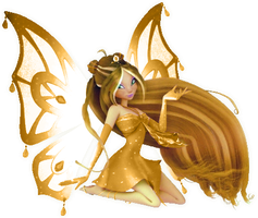 Winx Flora Enchantix 3d-REQUEST! by AlexaSpears1333