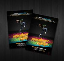 Motion Stop Flyers by boykulas