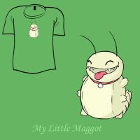 Woot Shirt - My Little Maggot by fablefire