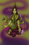 Lakshmi by jkr-illustration