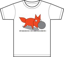 Foxy T-Shirt by zbyg