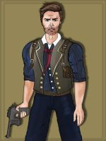 Booker Dewitt: Bioshock Infinite by toughraid3r37890