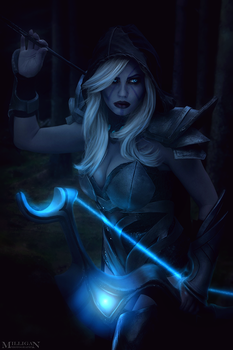 DotA 2 - Drow - The shadows are company enough by MilliganVick