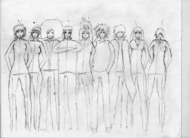 Another group Picture - 'HANAKO' by KingFromHatena