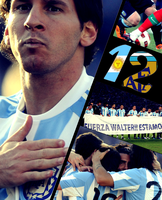 FIFA 12 Cover - Argentina by Dozit