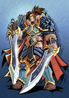 King Varian Wrynn by Lukali