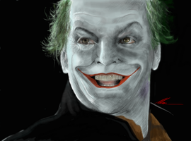 The Joker by AM4Y786