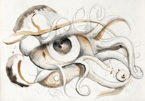 Eye surreal sketch by StephanusEmbricanus