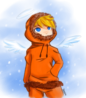 Snow Angel by Mirokii-DH