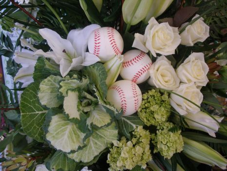 Detail of Tribute to a Baseball Lover by ArtisticAdventures