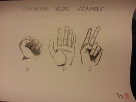 CHOOSE YOUR WEAPON by bli08