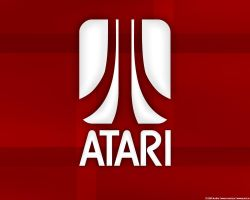 ATARI Logo Wallpaper by nilsbyte