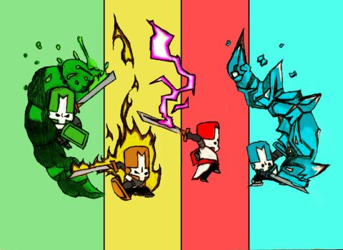 Castle Crashers by Hatredunleashed