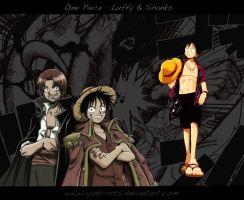 Wallpaper One Piece n1 by yuki-arts