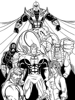 Angel Corps Team Inked by StarGamerWorld