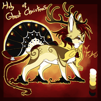 Holy ghost of Christmas Fantsuneko - Palette Adopt by StanHoneyThief