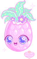 + Pinky Pineapple + by Princess-Peachie