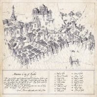 Challenge Commission: Mountain City of Kashir by Traditionalmaps