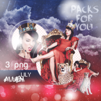 PNG Pack (37) Lily Allen by PS-ID