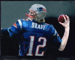 Tom Brady by Kalmek182