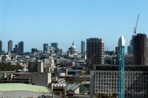 St. Pauls Cathedral From The London Eye by Takeshi-Toga