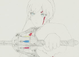 Weiss Drawing by SwedishX25