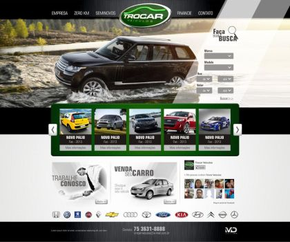 Site TROCAR Veiculos by slasher2000