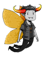 tavros pixel (animated) by miraliese