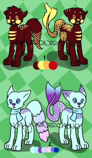 H2Pup Adopts - Open by MyuOneeChan