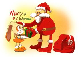 Merry christmas by Hanybe