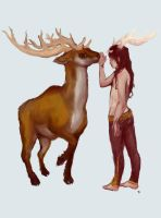 Deer Brother by perverted-kitty