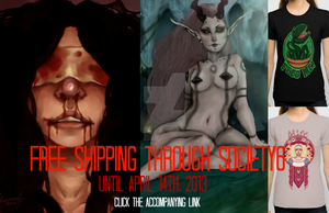 FREE SHIPPING THROUGH S6 by Ealaincraft