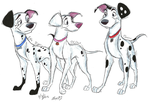 102 Dalmatians Grown-Up Pups by NY-Stray