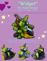 """""""Widget"""" The Kitchen Witch by TheSpyderDuster"""