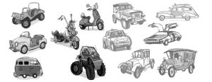 Vehicle Thumbnails by dodgyrommer