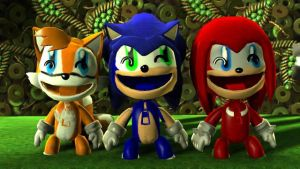 Team Sonic in LBP 2 by SonicsShadowisSilver