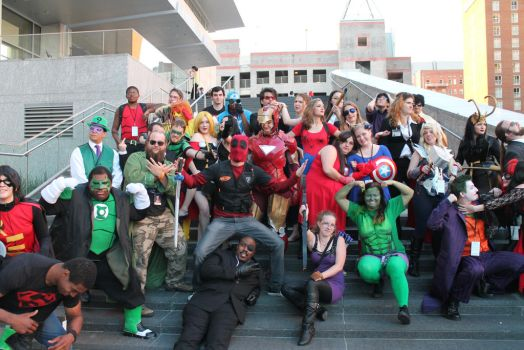 Marvel/DC photoshoot 8 by DoubleVision107