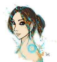 chell by Ria-Orion