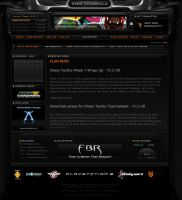 iMr Clan Gaming Site Layout by ImmoRtalMedia