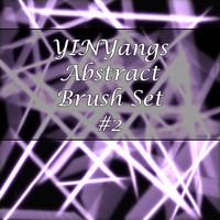 YinYangs Abstract Brush Set:2 by lllYinYanglll