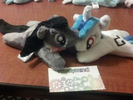 Octavia and Scratch 2.0 Pocket Pony by NerdyMind