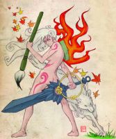 Okami Contest 2nd entry by rgm501