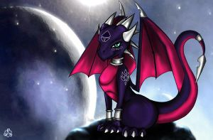 Cynder by Taliesin-the-dragoon