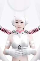 White Woebot by VampBeauty