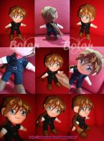 chibi Duo Maxwell plush version by Momoiro-Botan