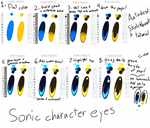 Sonic character eyes (tutorial) by Tri-shield