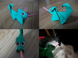 Origami Pascal by The-Rebexorcist
