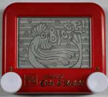 Bloop etch a sketch by pikajane