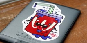 The Zombie Cafe Vinyl Stickers: Photo 5 by Hikero
